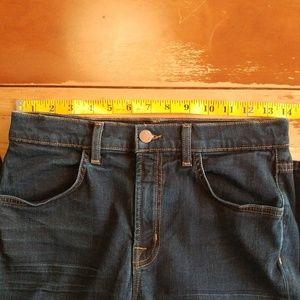 J Brand Jeans - J Brand Maria High Rise Skinny Jeans Dark Wash 28